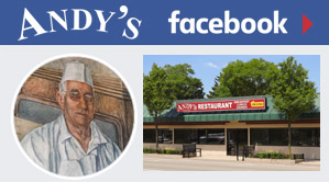 Link to Andy's Restaurant page on Facebook