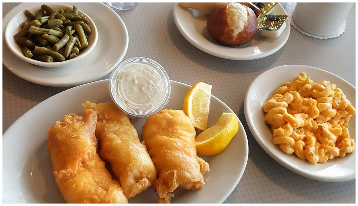Andy's restaurant in Crystal Lake serving delicious fish dinner on Friday evenings