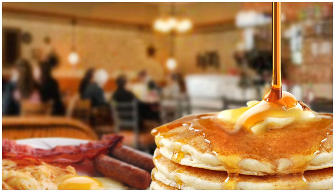 Andy's restaurant in Crystal Lake serving delicious pancakes daily